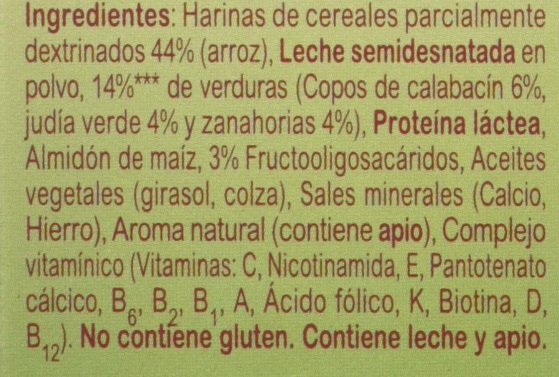 Blevit Plus Puré Crema de Verduras Cereales - 280 gr: Amazon.es: Alimentación y bebidas