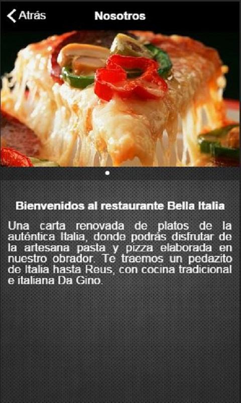 Amazon.com: Restaurante Bella Italia: Appstore for Android