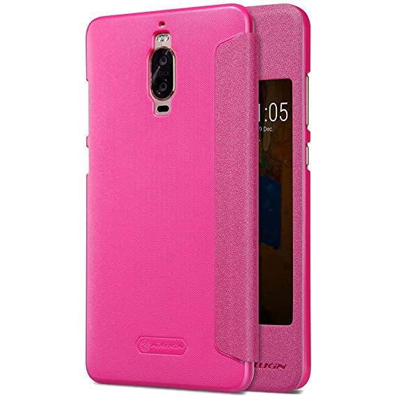 buy popular b9b3d 9cbd8 Amazon.com: Kepuch Sparkle HUAWEI Mate 9 Pro Flip Case - Ultra-thin ...