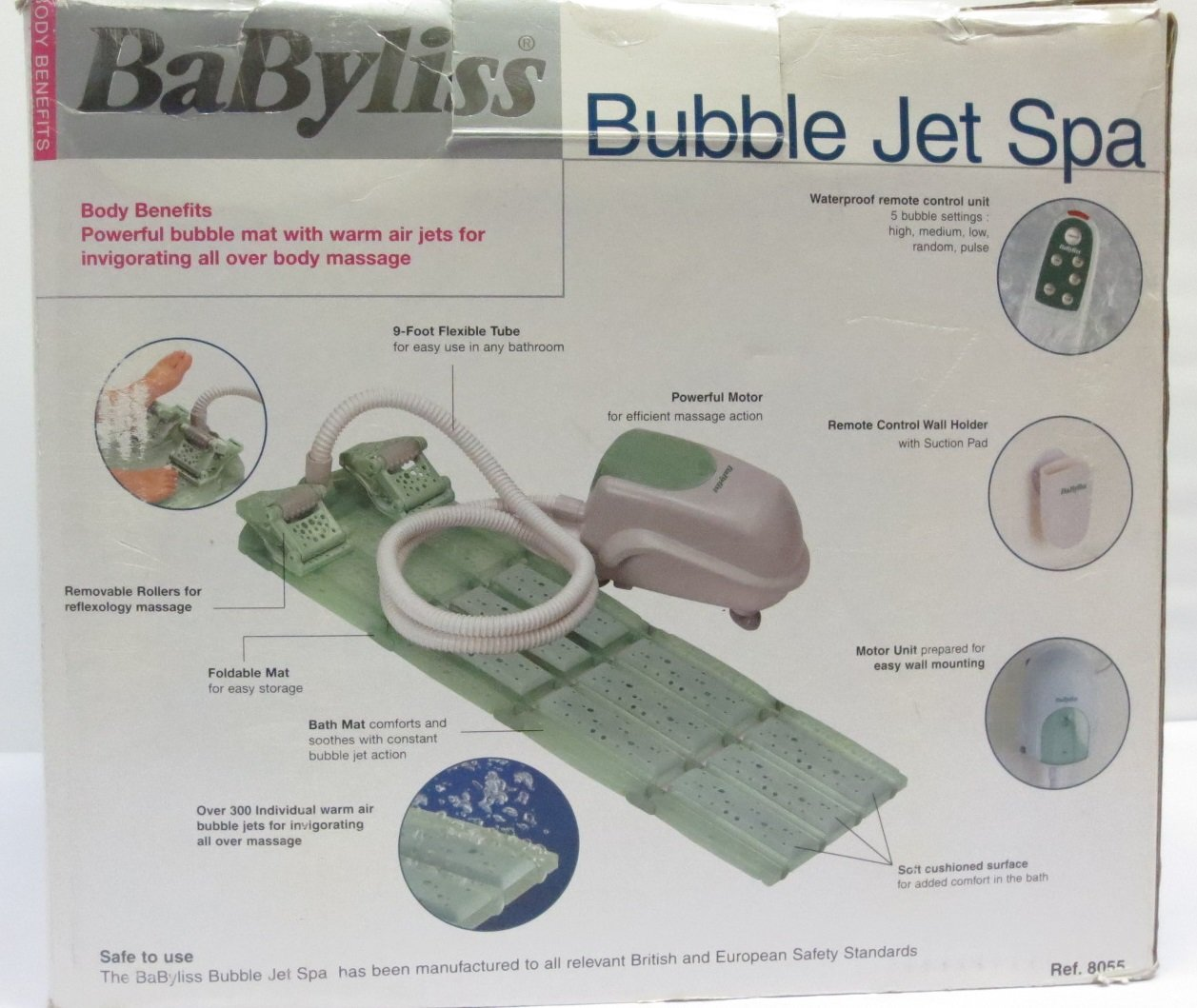 BaByliss BUBBLE JET SPA: Amazon.co.uk: Health & Personal Care