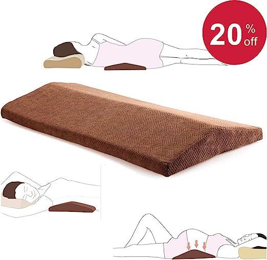 Amazon Com Lumbar Pillow For Sleeping Back Pain Soft Memory