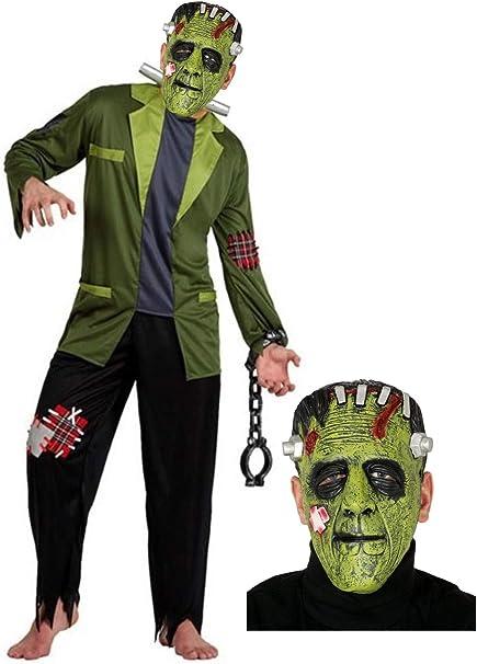Disfraz de Franky con mascara: Amazon.es: Ropa y accesorios