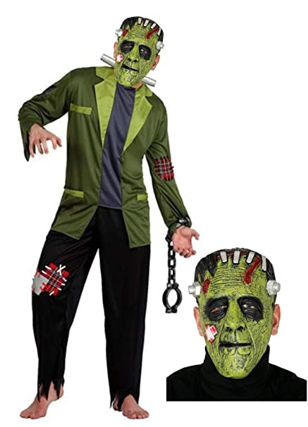 Disfraz de Franky con mascara