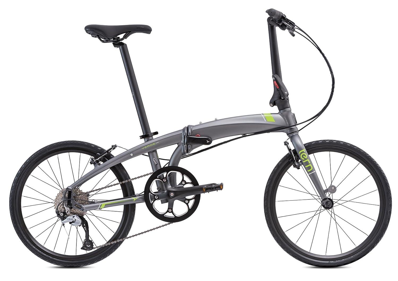 tern(ターン) Verge D9(451) 20インチ 9speed 折りたたみ自転車 2017年モデル B01LZAZSSGマットガンメタ / グリーン