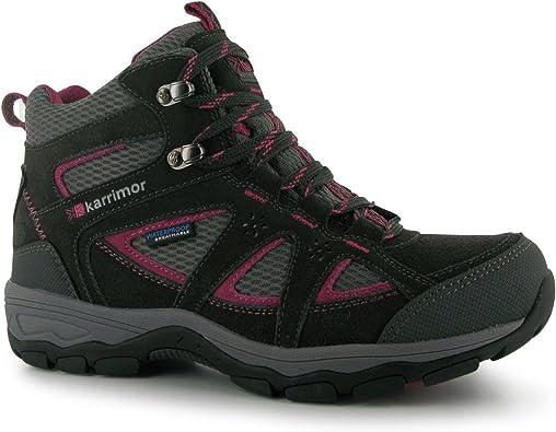 Karrimor Womens Mountain Mid Top Ladies Walking Boots Breathable Waterproof