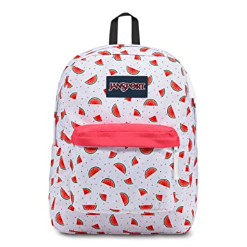 JanSport Superbreak Backpack - Watermelon Rain - Classic, Ultralight. Roll  over ... 30441554ba