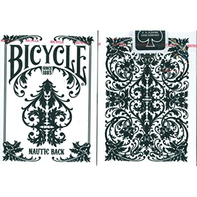 Bicycle Nautic White Playing Cards: Sports & Outdoors