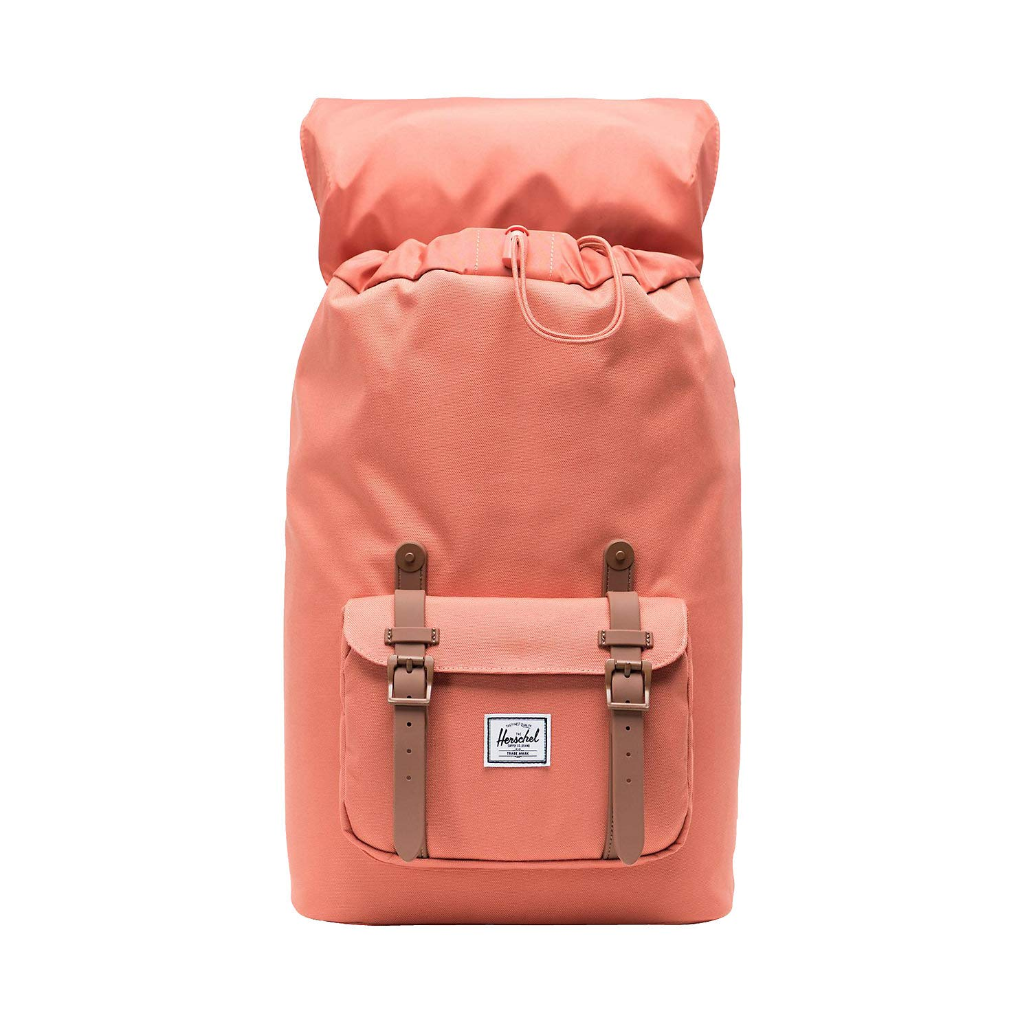 b0d5ddc5a574b Herschel Bags Collection Little America Rucksack 40 cm apricot Brandy -  Saddle Brown  Amazon.de  Koffer