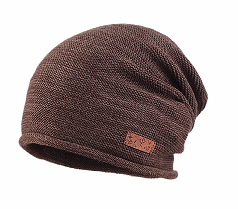 Tejido algodón Cap Pure algodón gorro de invierno para hombre suave y  gruesa cálido ... 91747b30c917