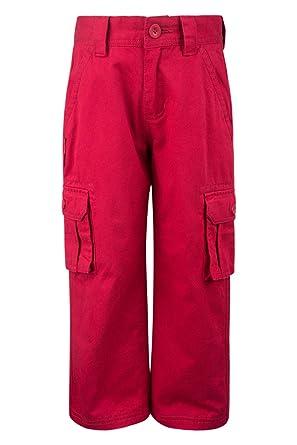 56c8eedde6b3d Mountain Warehouse Pantalon Cargo d'Hiver pour Enfant Rouge 3-4 Ans ...