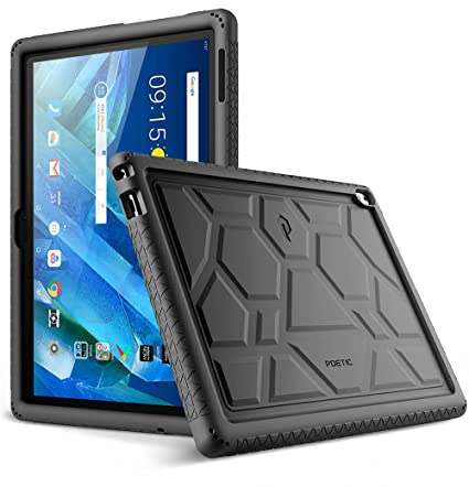 huge discount 5712c c9c83 Lenovo Moto Tab Case, Poetic TurtleSkin Series [Corner/Bumper  Protection][Grip][[Bottom Air Vents] Protective Silicone Case for Lenovo  Moto Tab ...
