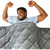 Hypnoser Adult Weighted Blanket Queen Size (20 lbs, 60''x80'' ) | Cooling Heavy Blanket | 100% Breathable Material with Pure