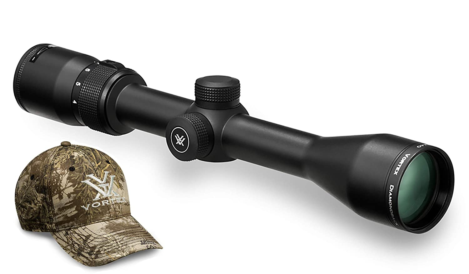 2. DIAMONDBACK® 4-12X40 RIFLESCOPE