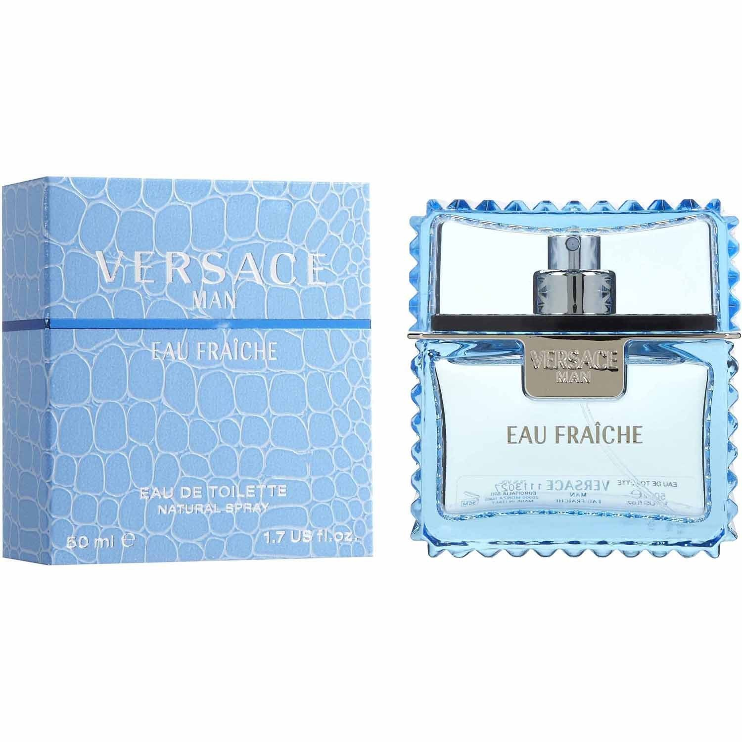 Ver sa ce Man Eau Fraiche by Gianni Vêrsace Eau De Toilette Spray 1.7 fl.oz./50 ml by Ve r s a ce