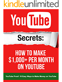 Youtube ebook googie lnc amazon kindle store youtube secrets how to make 1000 per month on youtube your youtube book solutioingenieria Gallery