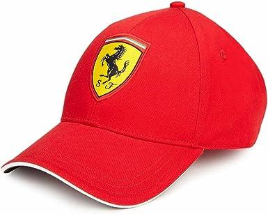 Mens Branded Puma Cotton Logo Hard Curved Peak Classic Baseball Cap Accessories