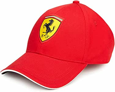 Scuderia Ferrari Gorra Clásica Roja: Amazon.es: Deportes y aire libre