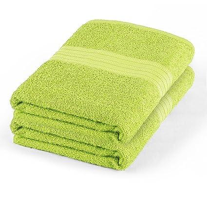 Toalla de baño sábana algodón (2 unidades, 65 x 35 cm) 430 G