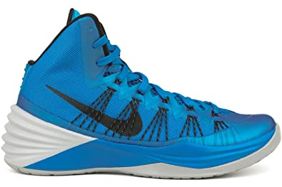 free shipping be136 6fce3 Nike Hyperdunk 2013 Mens Basketball Shoes (11.5, Photo Blue Wolf Grey Black