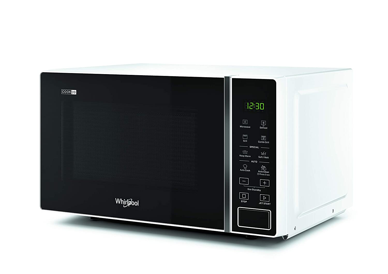 Whirlpool MWP 203 W - Horno microondas 20 litros blanco con grill ...