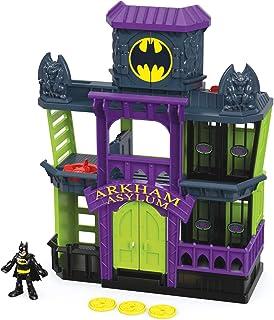 Batman Manicomio di Arkham DC Super Friends, Playset con Personaggi, FDX24