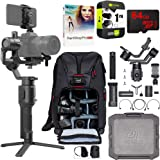 DJI Ronin-SC 3-Axis Gimbal Stabilizer for Mirrorless Cameras Pro Creative Bundle with Deco Photo Backpack + 64GB High…