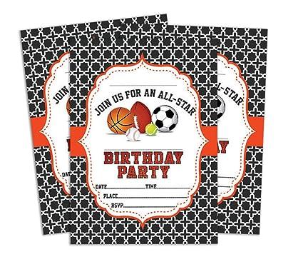 Amazon Darling Souvenir Black Birthday Invitation Card 28 Pcs