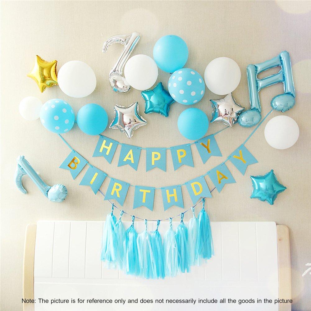 Amazon.com: Kit de globos para fiesta de primer cumpleaños ...