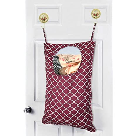 Amerzam Laundry Bag,Door Hanging Laundry Hamper/Laundry Basket/Clothes  Storage Bag
