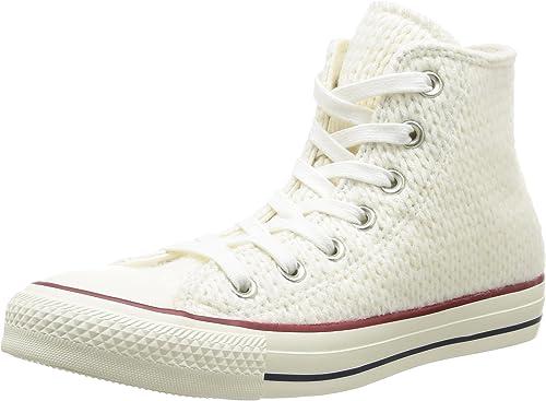 Converse Women's Chuck Taylor All Star Winter Knit High Top Fashion Sneaker