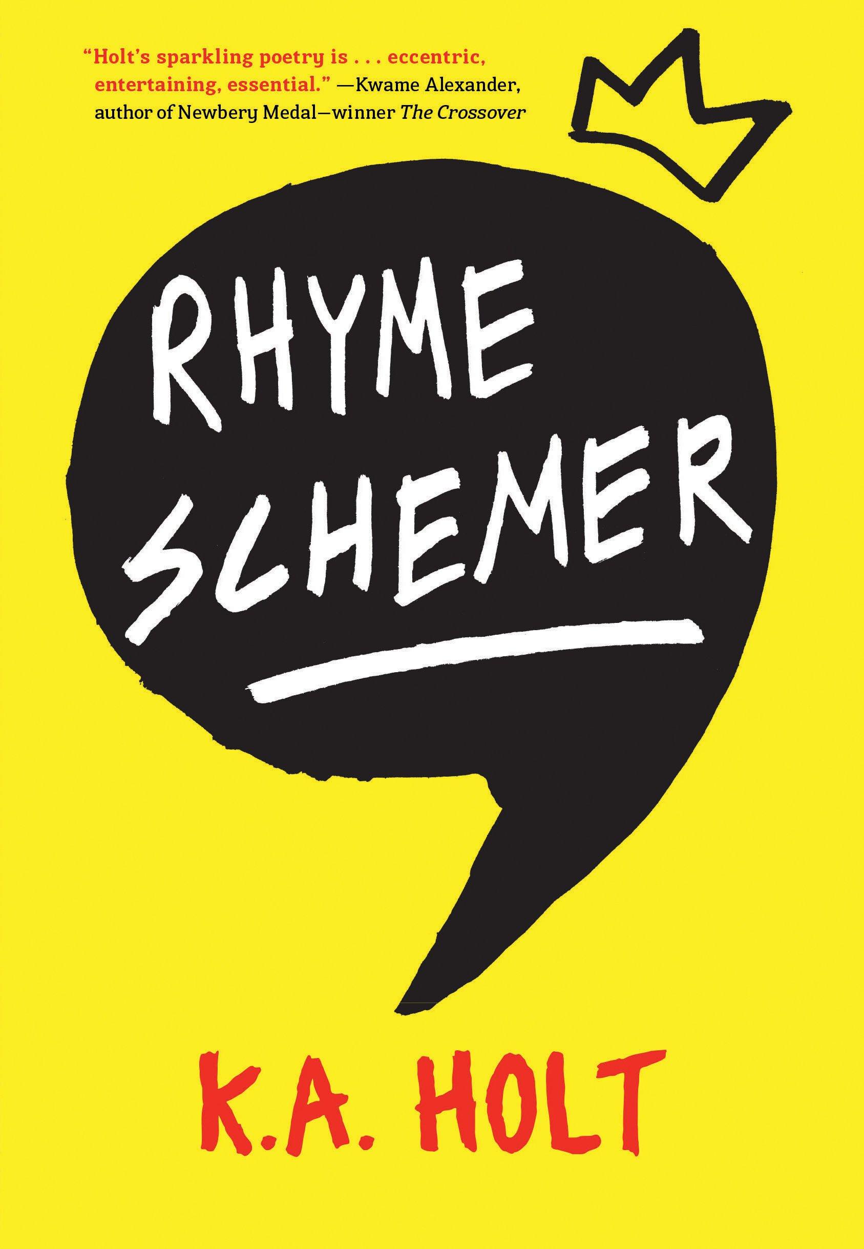 amazon com rhyme schemer 9781452145709 k a holt books