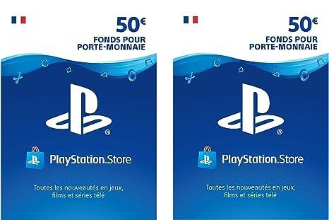 Carte Psn 50.Carte Psn 100 Eur Code Playstation Store Ps4 Ps3 Ps Vita