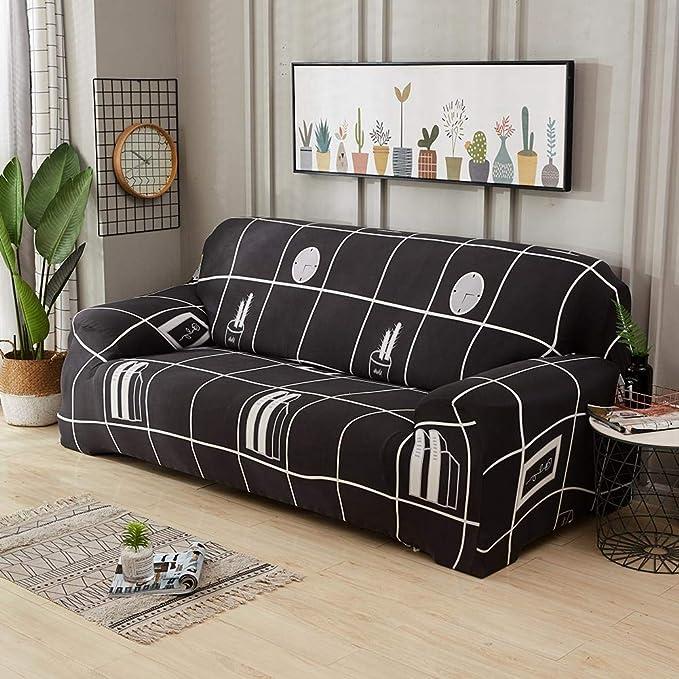 GLOBEAGLE - Funda para sofá con Tapa, elástica, Protector de ...