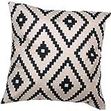 Iuhan® Fashion Geometric Argyle Linen Throw Pillow Case Cushion Cover Home Decor