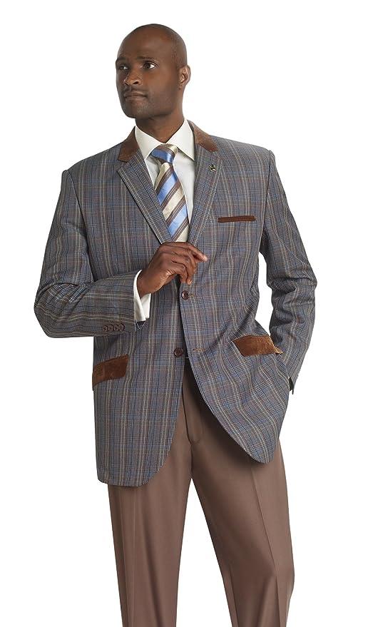 Easy1940sMen8217sFashionGuide Casual Multi Blazer Jacket For Suit J05 $74.99 AT vintagedancer.com
