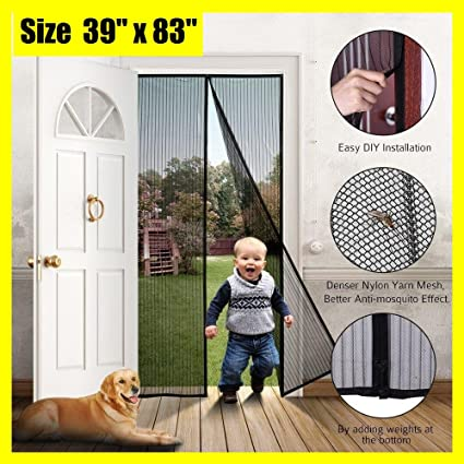 Merveilleux EZline Magnetic Screen Door   French Door Screen   Bug Screen Door   Heavy  Duty Mesh