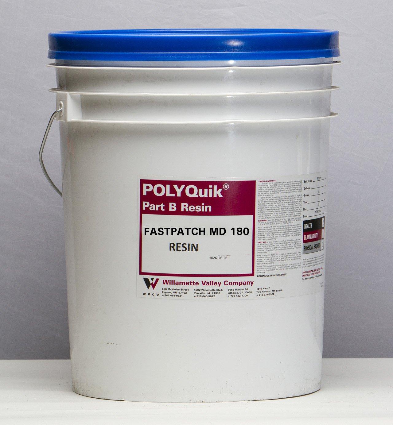 FASTPATCH MD 180 Gray (RESIN) 5-Gal Meter Dispensed Elastomeric Polymer