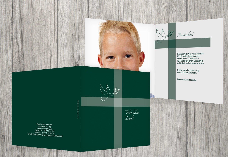 Kartenparadies Dankeskarte Konfirmation Danksagung Konfirmation Glaubensbote, hochwertige Danksagung Danksagung Danksagung für Konfirmationsfeier inklusive Umschläge   20 Karten - (Format  145x145 mm) Farbe  Dunkelrot B01N6WWPH9 | Spaß  | Die Farbe ist sehr auffälli 1dc341