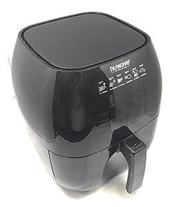 Nuwave - Brio Digital Air Fryer - 3 Quart Capacity - Reversible Rack, Baking Pan, & Recipe Book Included