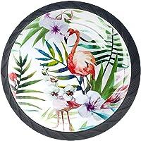 (4Pack) Crystal Glass Cabinet Knoppen Trekt Handvatten Knoppen voor Dressoir Laden Deur met Schroeven Tropisch Wit Blad…