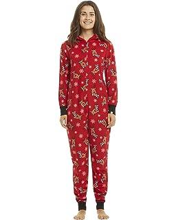 GIKING Christmas Matching Family Pajamas Set Santa s Deer Sleepwear  Jumpsuit Hoodies 14ea70866