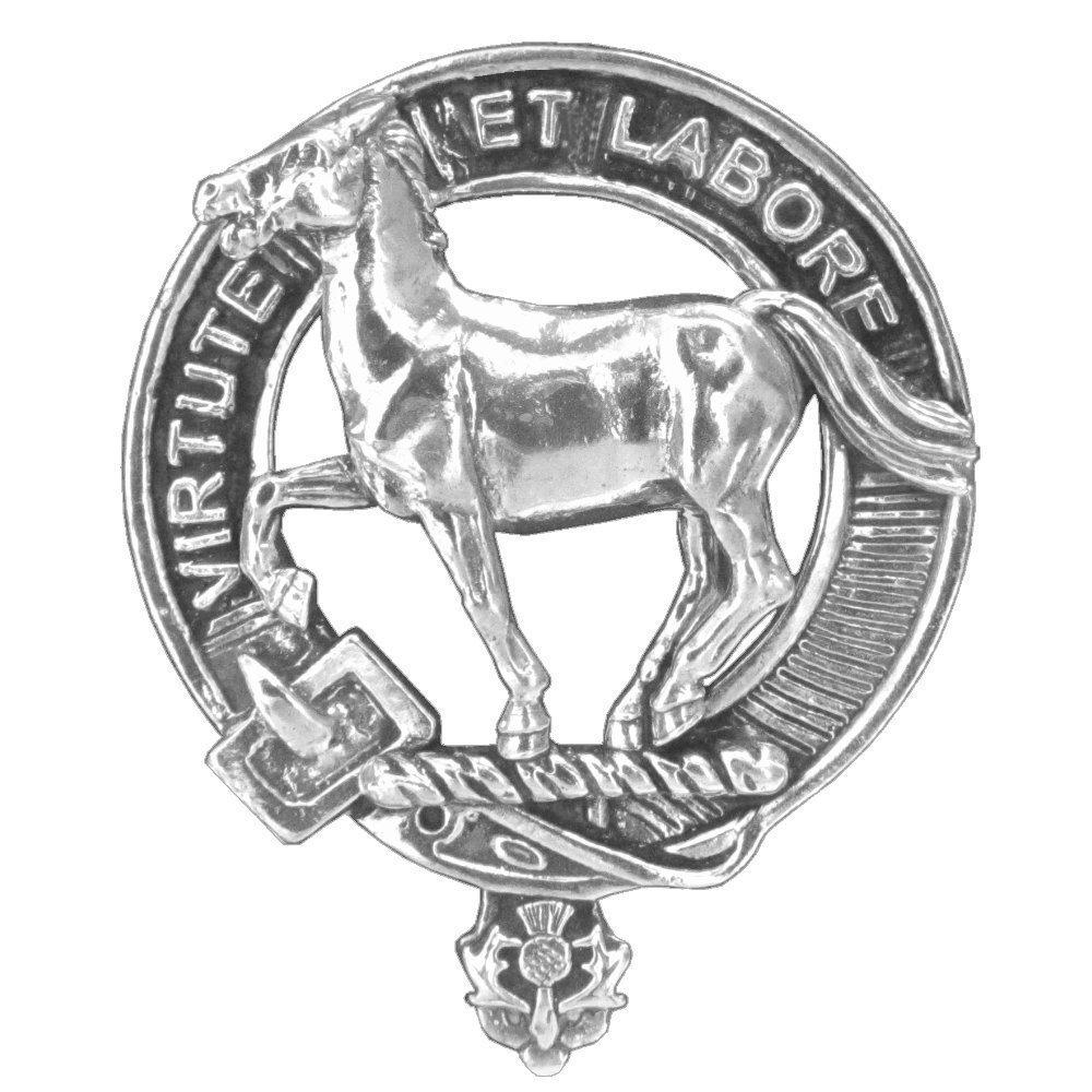 Cochrane Clan Crest Scottish Cap badge