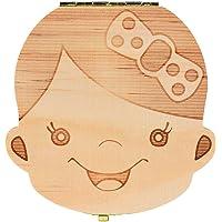 Tefamore Caja del Colección Diente para el bebé