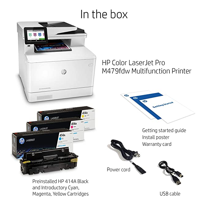 Amazon.com: HP Color Laserjet Pro Multifunction Interno ...