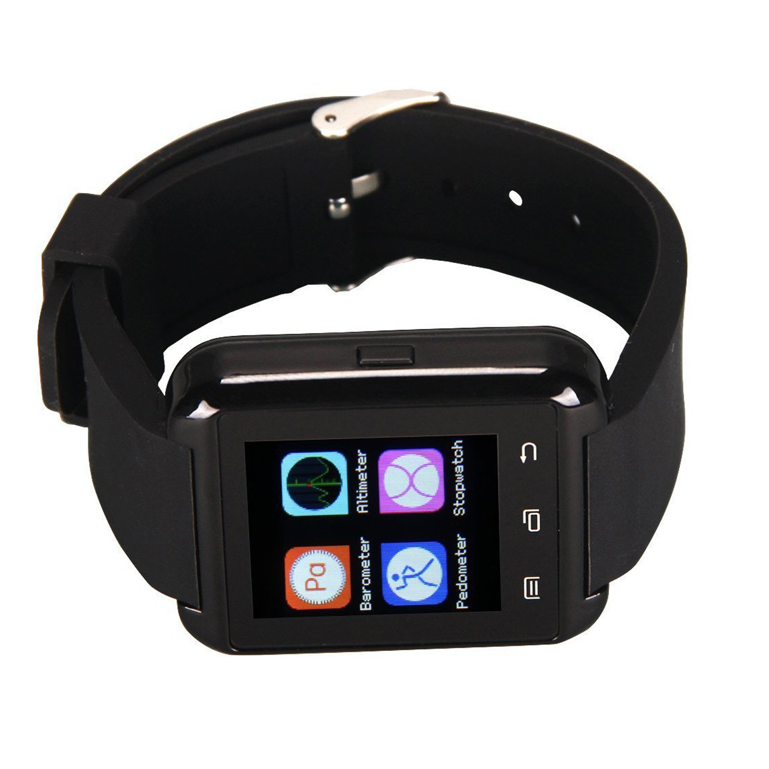 Smart Watches, eJiasu U8 Montre Connectée Bluetooth Batterie Smart Watch Sport pour les smartphones Android Samsung Galaxy Note S4 / S5 / S6 3/4/5 iPhone ...