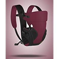 Little Pumpkin - Kiddie Kingdom Baby Carrier (Maroon Black)