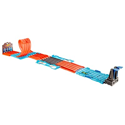 Hot Wheels Track Builder System Race Crate: Toys & Games