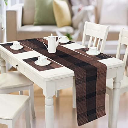 Merveilleux Famibay PVC Table Placemats And Table Runner   Heat Insulation PVC Place  Mats Stain Resistant