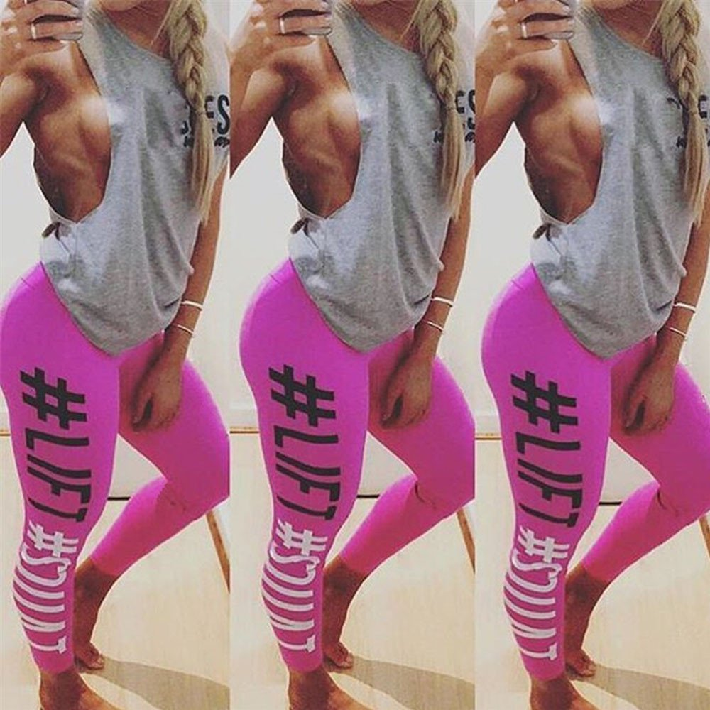 Women's Workout Leggings Pants- Fitness Sports Gym Running Yoga Athletic Fashion Pants, Sunsee Gril 2019 by SUNSEE WOMEN'S CLOTHES PROMOTION (Image #5)