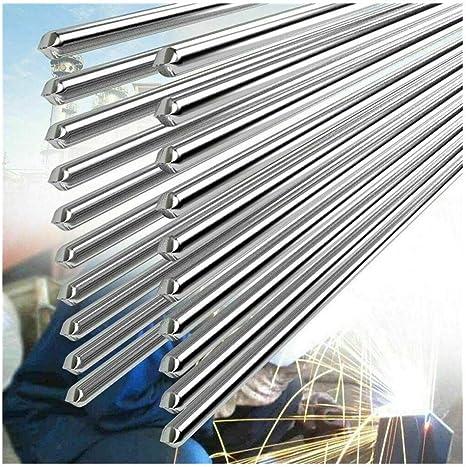 Imagen de10 PCS 2.0MM 50CM Alambre de Soldadura de Aluminio de Baja Temperatura Convencional Durable Al Soldering Rod No Necesita Polvo de Soldadura